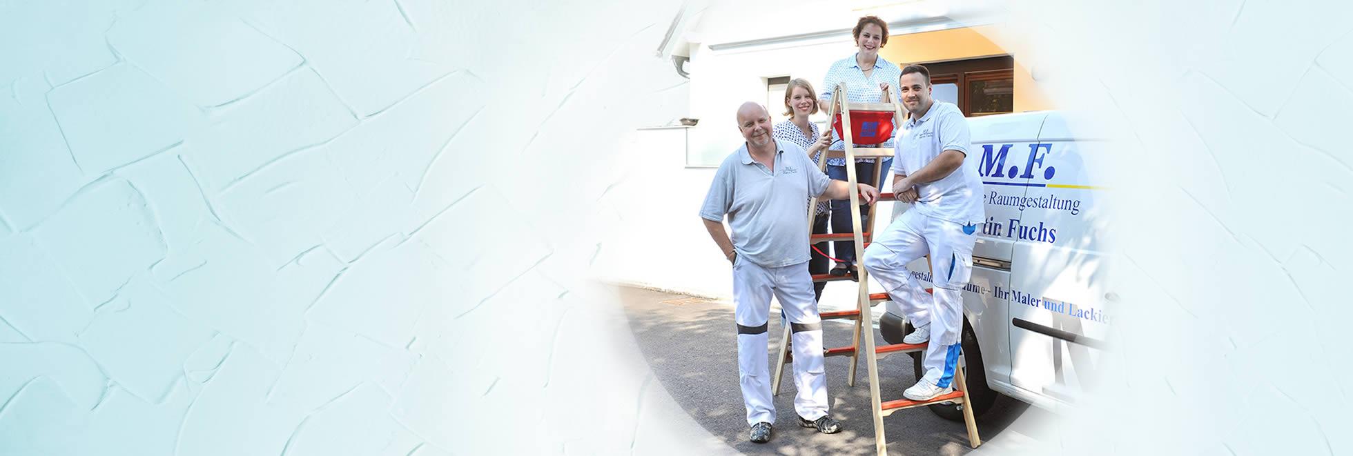Das Team Maler Fuchs